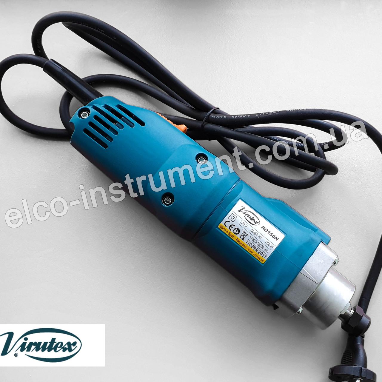 Ручной фрезер Virutex RO156N для обработки кромки ПВХ + насадка CA56G