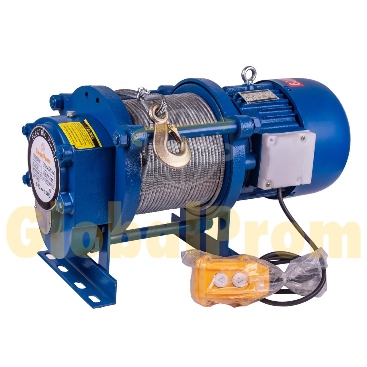 Лебедка электрическая KCD 300/600 кг