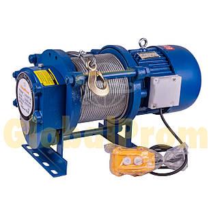 Лебедка электрическая KCD 300/600 кг 30/60 м
