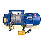 Лебедка электрическая KCD 300/600 кг, фото 3