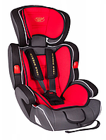 Автокресло детское Summer Baby Cosmo 9-36 кг. серое с красным