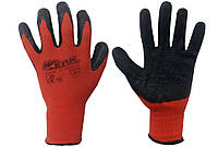 Перчатки стрейчевые залитые вспененным полиуретаном (пена), фото 1