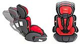 Автокресло детское Summer Baby Cosmo 9-36 кг. серое с красным, фото 3