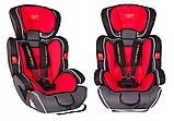 Автокресло детское Summer Baby Cosmo 9-36 кг. серое с красным, фото 4