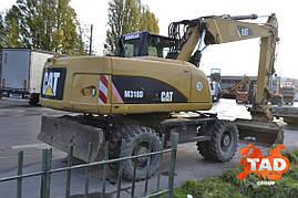 Колесный экскаватор CAT M318D (2010 г), фото 2