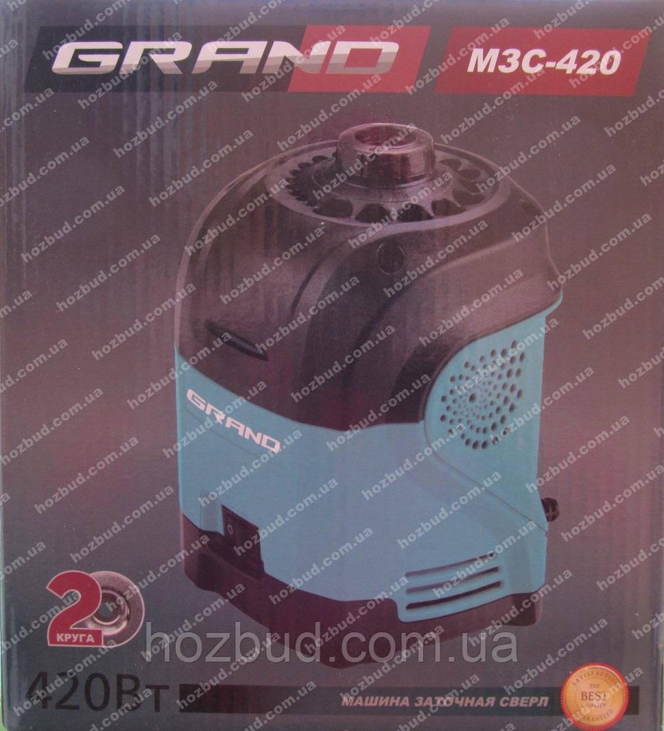 Заточний верстат для свердел Grand МЗС-420