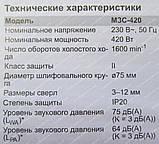 Заточний верстат для свердел Grand МЗС-420, фото 7