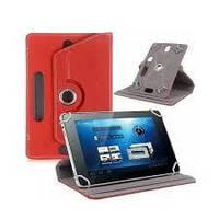 Чехол книжка для планшета 10 - 10.1 дюймов Универсальные Красный