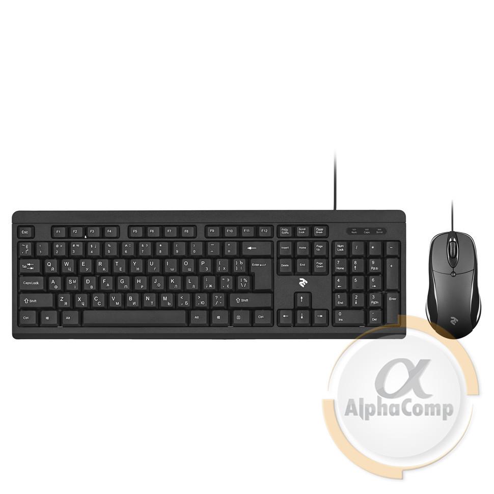 Клавиатура + мышь 2E MK401 Black