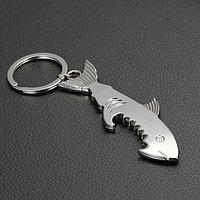 Брелок-открывашка Shark Silver