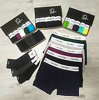 Набор мужских трусов Calvin Klein 5 шт без коробки Боксеры трусы шорты транки кельвин кляйн