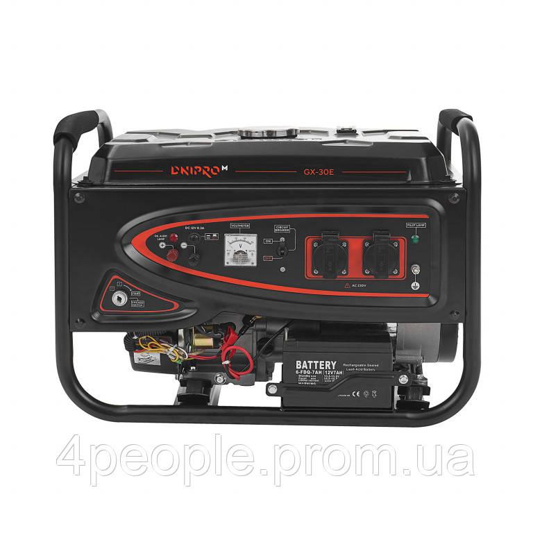 Генератор бензиновый Dnipro-M GX-30E|СКИДКА ДО 10%|ЗВОНИТЕ