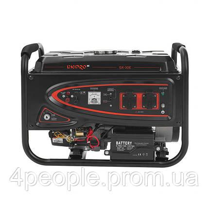 Генератор бензиновый Dnipro-M GX-30E|СКИДКА ДО 10%|ЗВОНИТЕ, фото 2