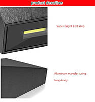 Светильник садово-парковый для подсветки фасада WD-056 LED  6W  черный IP65 3000К, фото 10