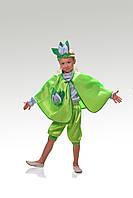 Детский карнавальный костюм для мальчика Месяц «Апрель» 115-125 см, зеленый
