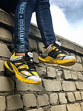 Кроссовки женские Balenciaga TRACK желтые-черные (Top replic), фото 2