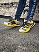 Кроссовки женские Balenciaga TRACK желтые-черные (Top replic), фото 3