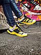 Кроссовки женские Balenciaga TRACK желтые-черные (Top replic), фото 4