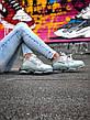 Кроссовки женские Balenciaga Triple S белые-серые (Top replic), фото 2