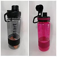 Спортивна пляшка для води 700 мл «Старт» в асортименті., фото 1