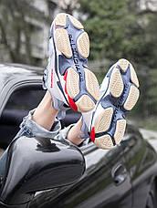 Кроссовки женские Balenciaga Triple S серые-металлик (Top replic), фото 2