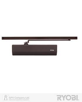 Автоматический доводчик на дверь RYOBI 2000 DS-2050T DARK_BRONZE BC SLD_HO_ARM EN_3 60кг 950мм