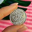 Срібна сувенірна монета Пити - Точно Пити - срібна Монета Пити - Не пити діам. 25 мм, фото 3