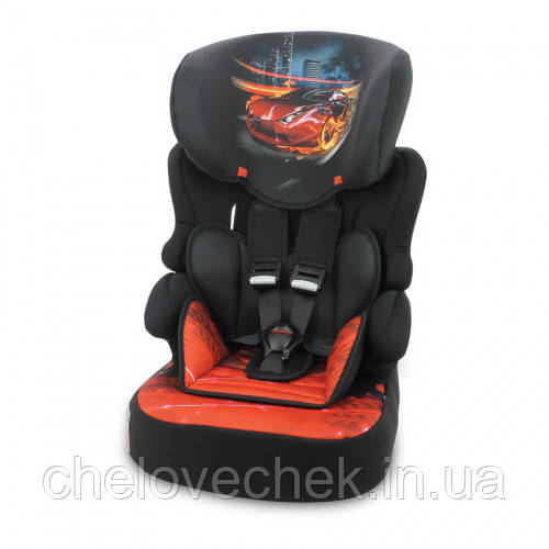 Детское автокресло Lorelli X-Drive+ black fiery race (9-36 кг)