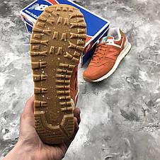 Кроссовки женские New Balance 574 Teracot оранжевые (Оригинал), фото 2