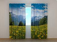 """Фото шторы """"Природа"""""""