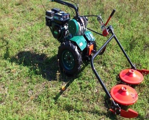 Експлуатация косилки роторной Iron Angel 90R