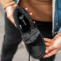 """Зимние кроссовки на меху Nike Blazer SB """"Черные"""", фото 2"""