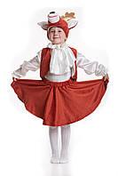 Детский карнавальный костюм для детей «Олененок» 110-120 см, кирпичный, фото 1