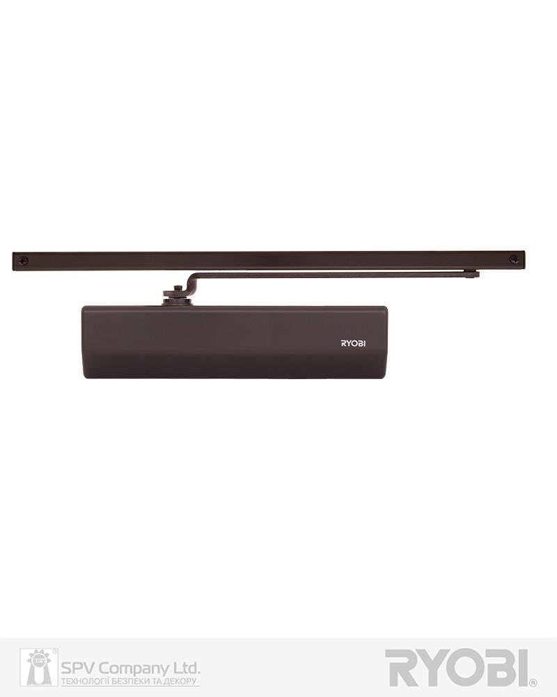 Доводчик с фиксацией двери RYOBI 2550 D-2550T DARK_BRONZE BC SLD_ARM EN_1-3 до_65кг 1050мм FIRE