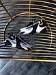Кроссовки женские NIKE WMNS ZOOM 2K черные-белые (Top replic), фото 4