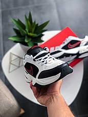 Кроссовки женские Nike Air Monarch IV белые-черные (Top replic), фото 2