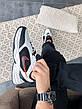 Кроссовки женские Nike Air Monarch IV белые-черные (Top replic), фото 5