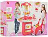 Дитячий ігровий набір «Кухня» з посудом,візком.