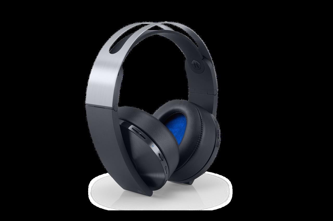 Наушники Sony PS4 Wireless Headset Platinum