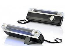 ПОРТАТИВНЫЙ УФ детектор ВАЛЮТ КУПЮР карман DL01 с фонарем (2289)