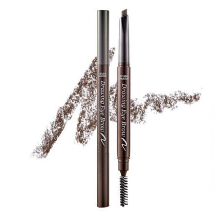 Карандаш для бровей Etude House Drawing eye brow pencil 02 gray brown