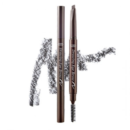 Карандаш для бровей Etude House Drawing eye brow pencil 04 dark grey