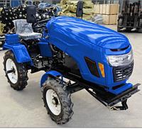 Минитрактор  МТ-181LT 18 л.с. синий/красный  дизель водяное охлаждение