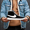 "Мужские зимние кроссовки Nike Skei Board  ""Black"", фото 2"