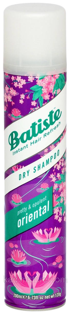Сухой шампунь Batiste Dry Shampoo Pretty and Opulent Oriental 200 мл
