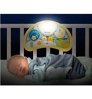 Музыкальный ночник Мишки на воздушном шаре Weina 2147