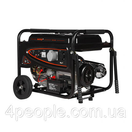 Генератор бензиновый Dnipro-M GX-70E|СКИДКА ДО 10%|ЗВОНИТЕ, фото 2