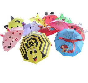 Детские зонтики, дождевики