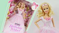 Колекційна лялька барбі День Народження Barbie birthday wishes 2016, фото 1