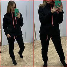 Спортивный костюм на флисе ~Prime~ чёрный